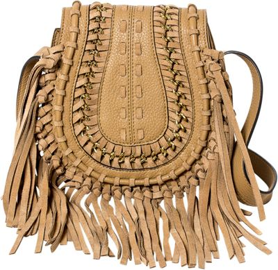 Aimee Kestenberg Handbags Genny Crossbody Caramel - Aimee Kestenberg Handbags Leather Handbags
