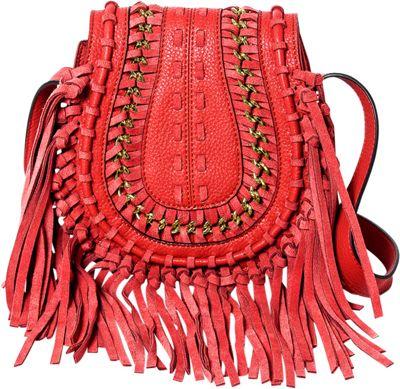 Aimee Kestenberg Handbags Genny Crossbody Rouge Red - Aimee Kestenberg Handbags Leather Handbags