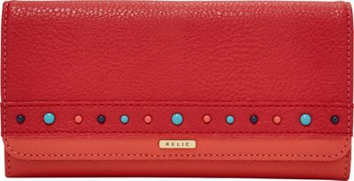 Relic Takeaway Flap Checkbook Cherry Blossom - Relic Women's Wallets
