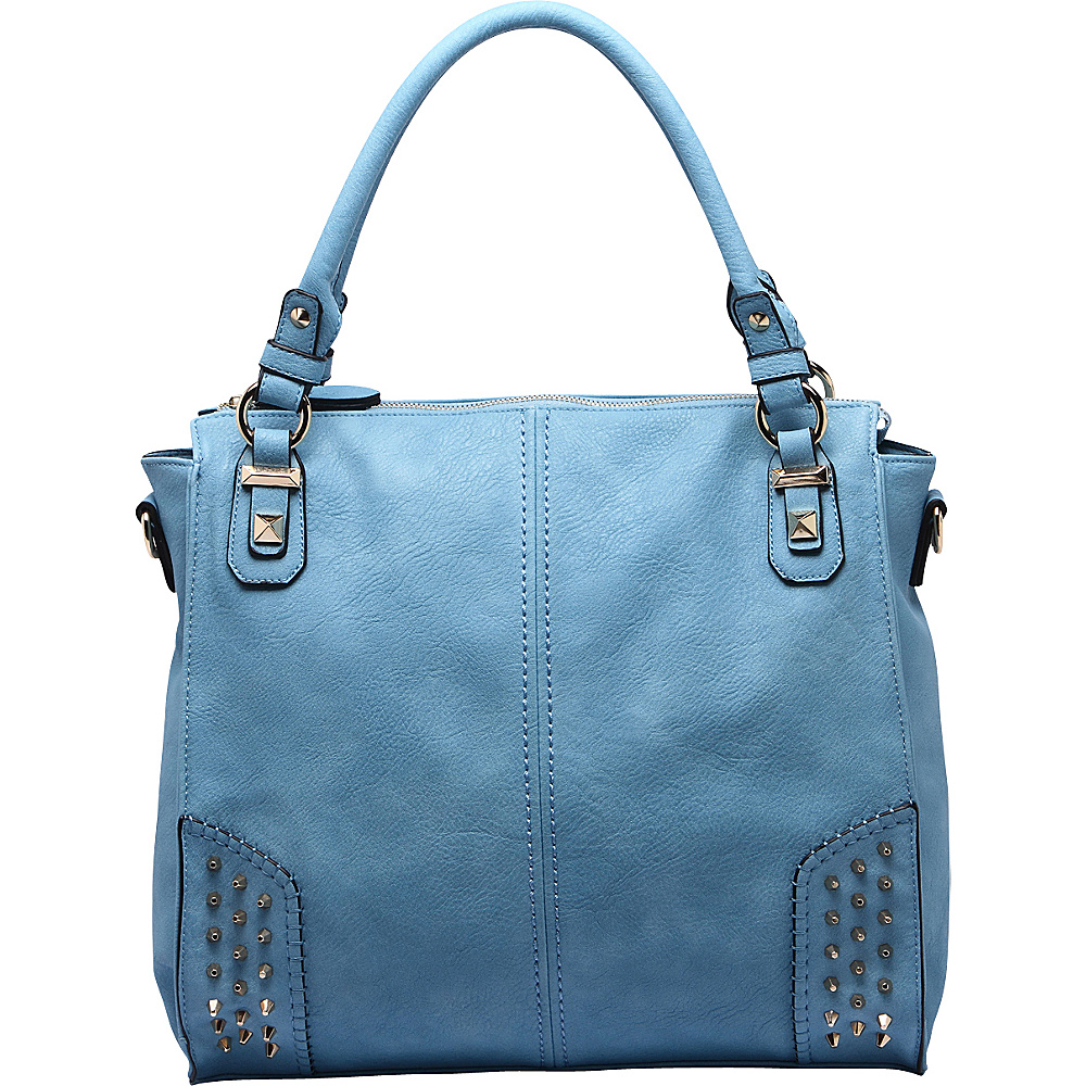 MKF Collection Alexia Shoulder Bag Blue - MKF Collection Manmade Handbags - Handbags, Manmade Handbags