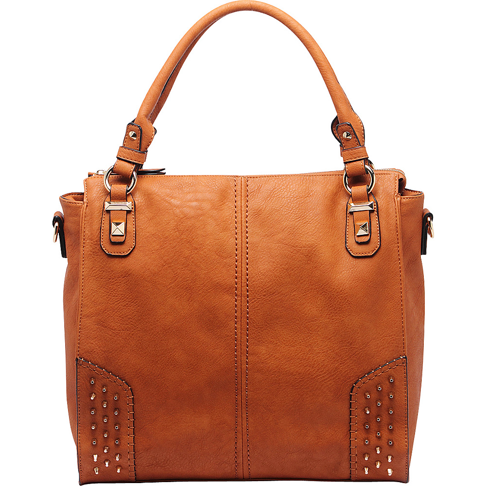 MKF Collection Alexia Shoulder Bag Brown - MKF Collection Manmade Handbags - Handbags, Manmade Handbags