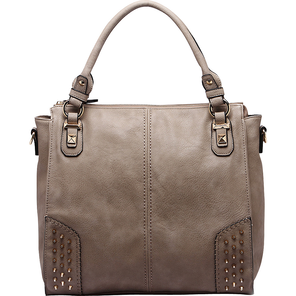 MKF Collection Alexia Shoulder Bag Khaki - MKF Collection Manmade Handbags - Handbags, Manmade Handbags