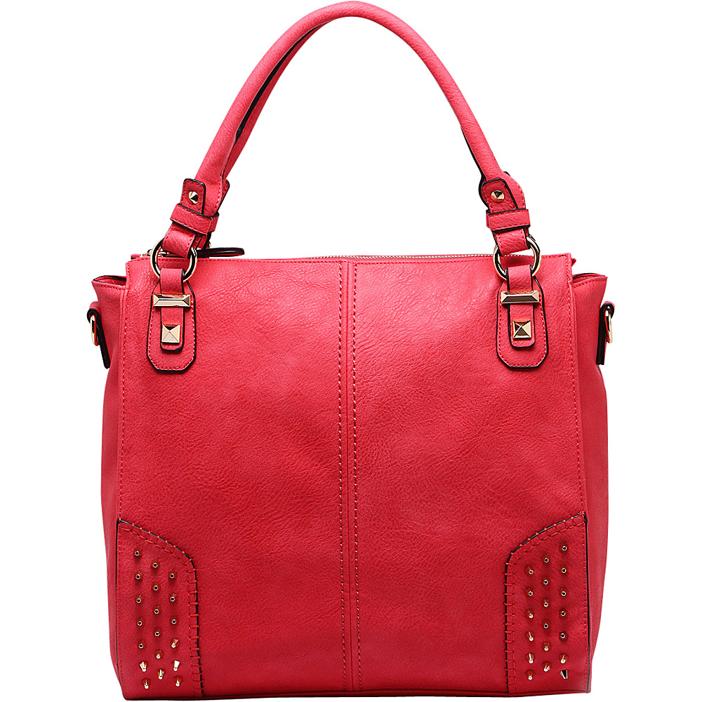 MKF Collection Alexia Shoulder Bag Red - MKF Collection Manmade Handbags - Handbags, Manmade Handbags