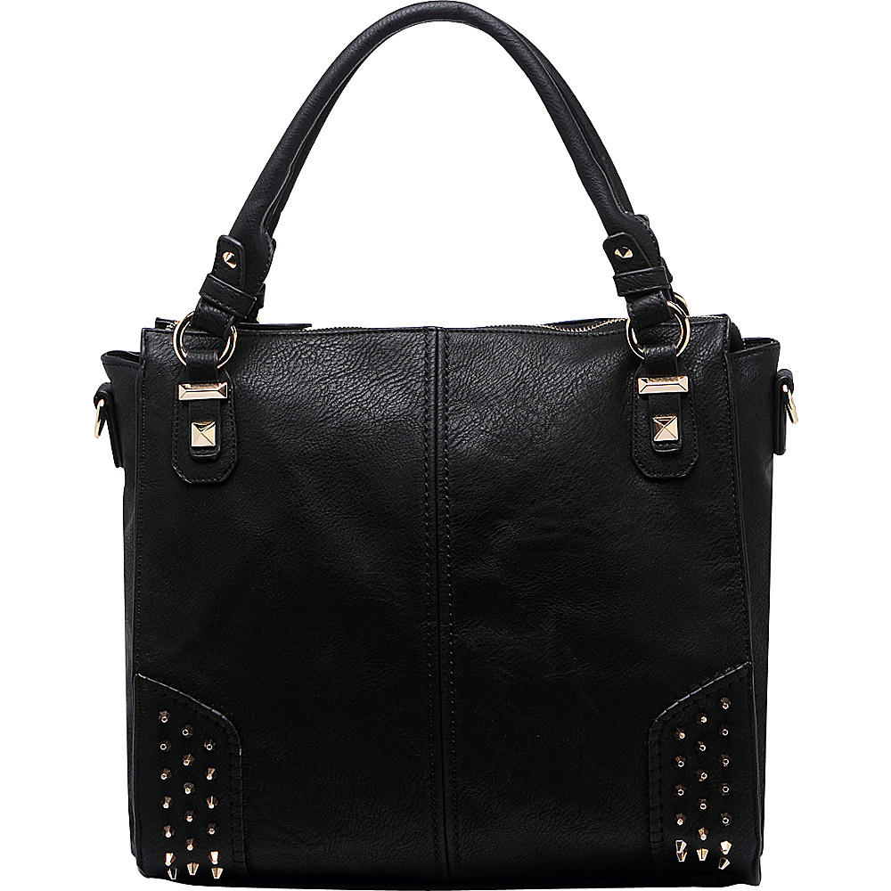 MKF Collection Alexia Shoulder Bag Black - MKF Collection Manmade Handbags - Handbags, Manmade Handbags