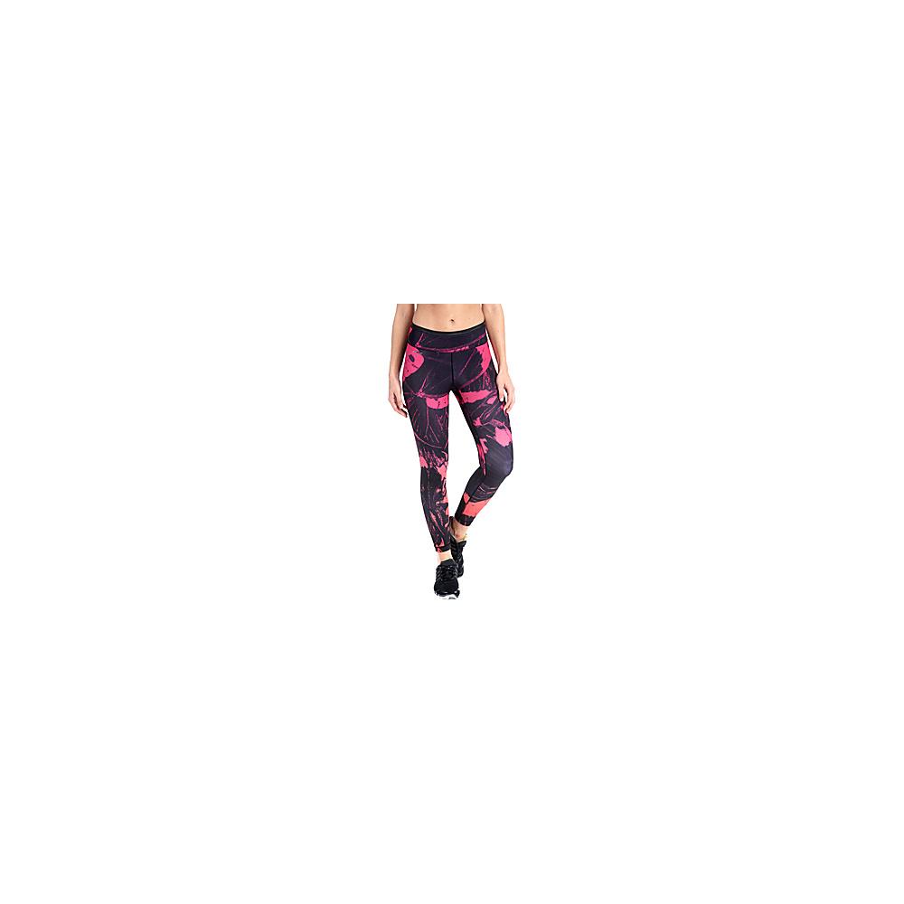 Lole Lainie Leggings L - Pink Glo Mariposa - Lole Womens Apparel - Apparel & Footwear, Women's Apparel