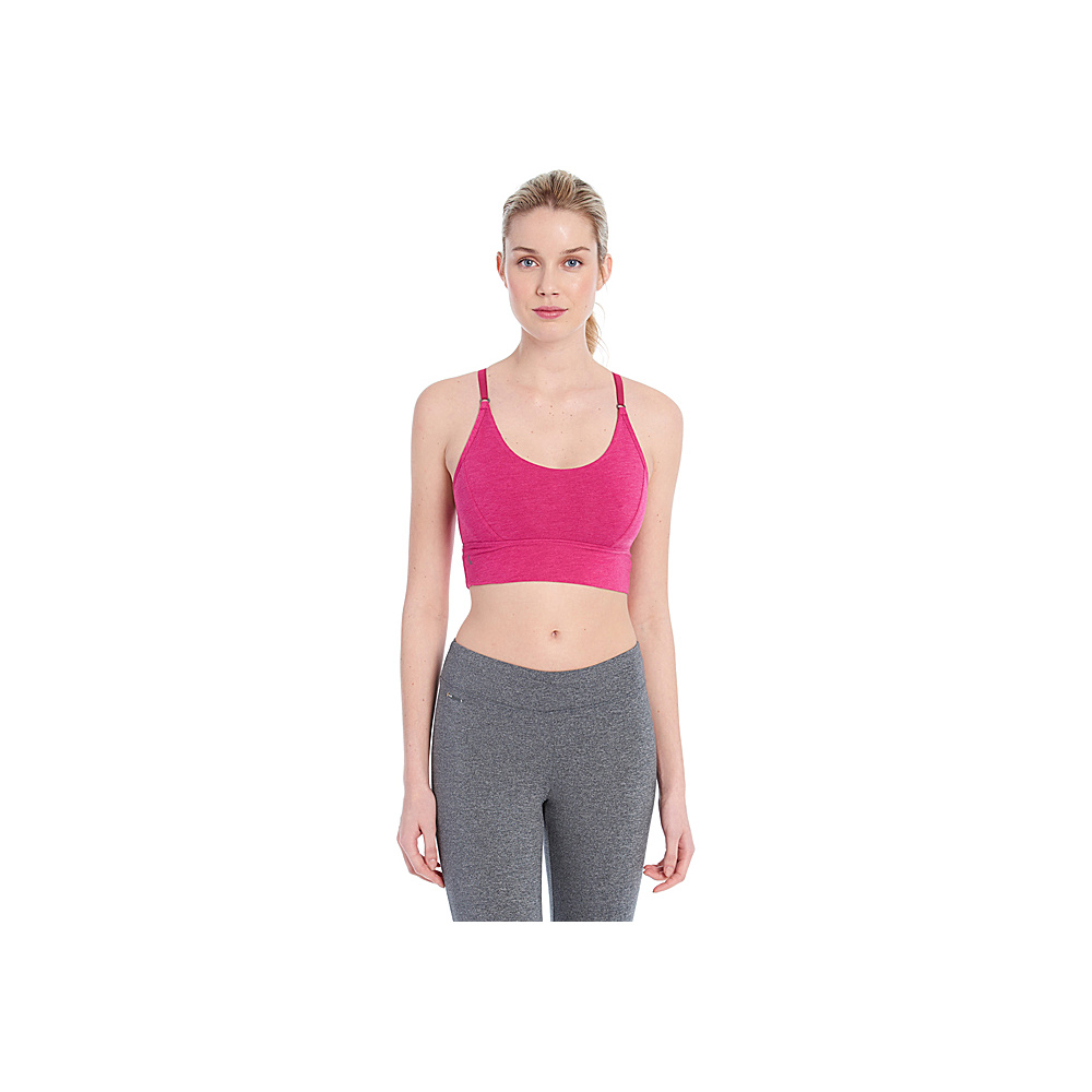Lole Ramona Bra XS - Crushed Berries Heather - Lole Womens Apparel - Apparel & Footwear, Women's Apparel