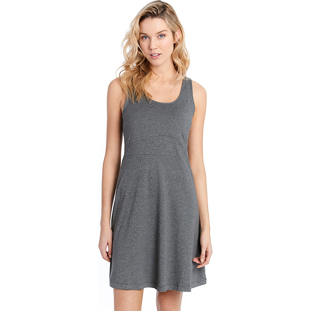 Lole Saffron  Dress XS - Black Heather - Lole Womens Apparel - Apparel & Footwear, Women's Apparel