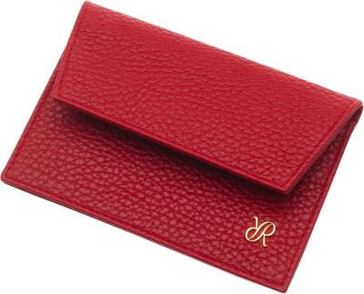 Rapport London Continental Leather Credit Card Holder Red - Rapport London Designer Handbags