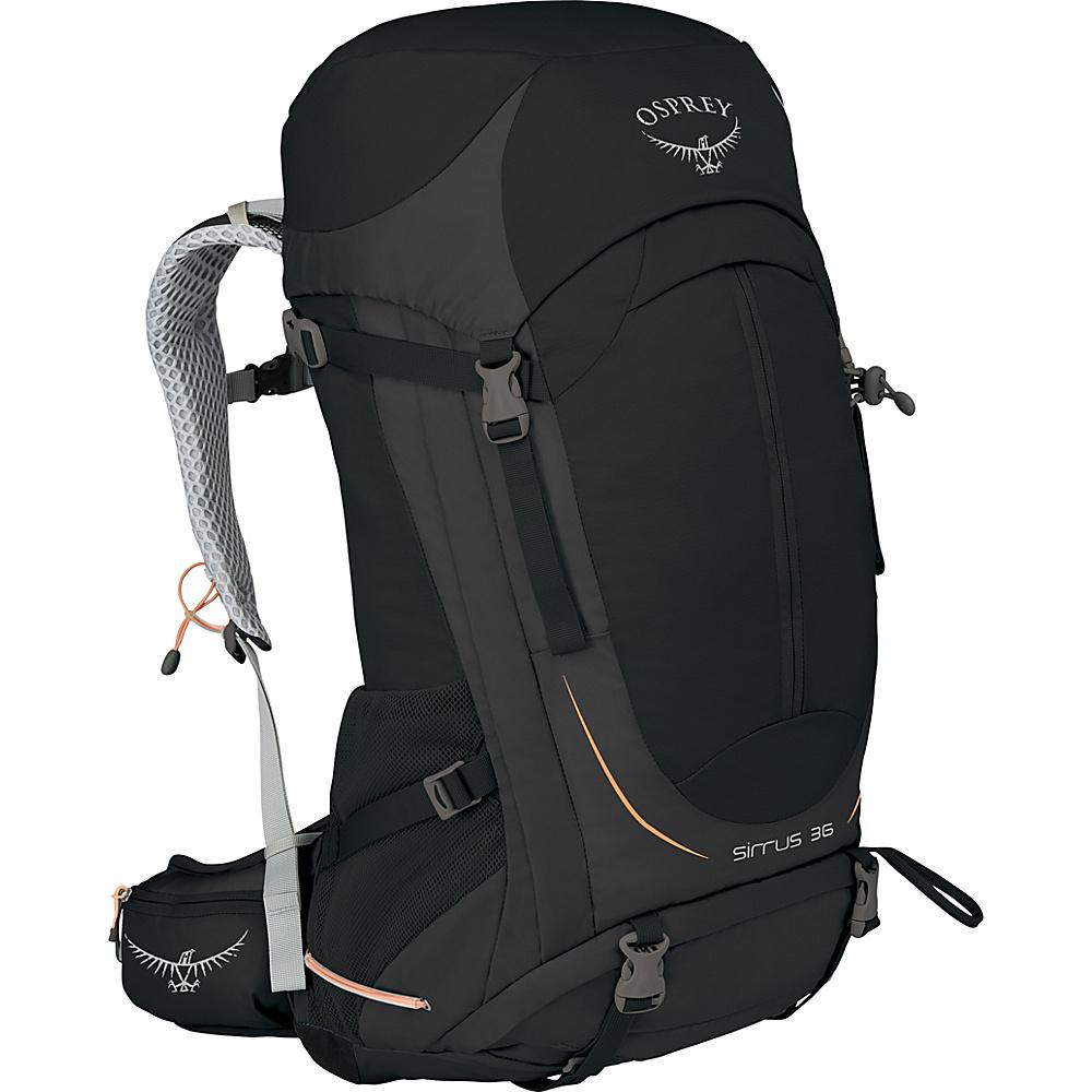 Osprey Womens Sirrus 36 Hiking Pack Black – WS/M - Osprey Backpacking Packs - Outdoor, Backpacking Packs