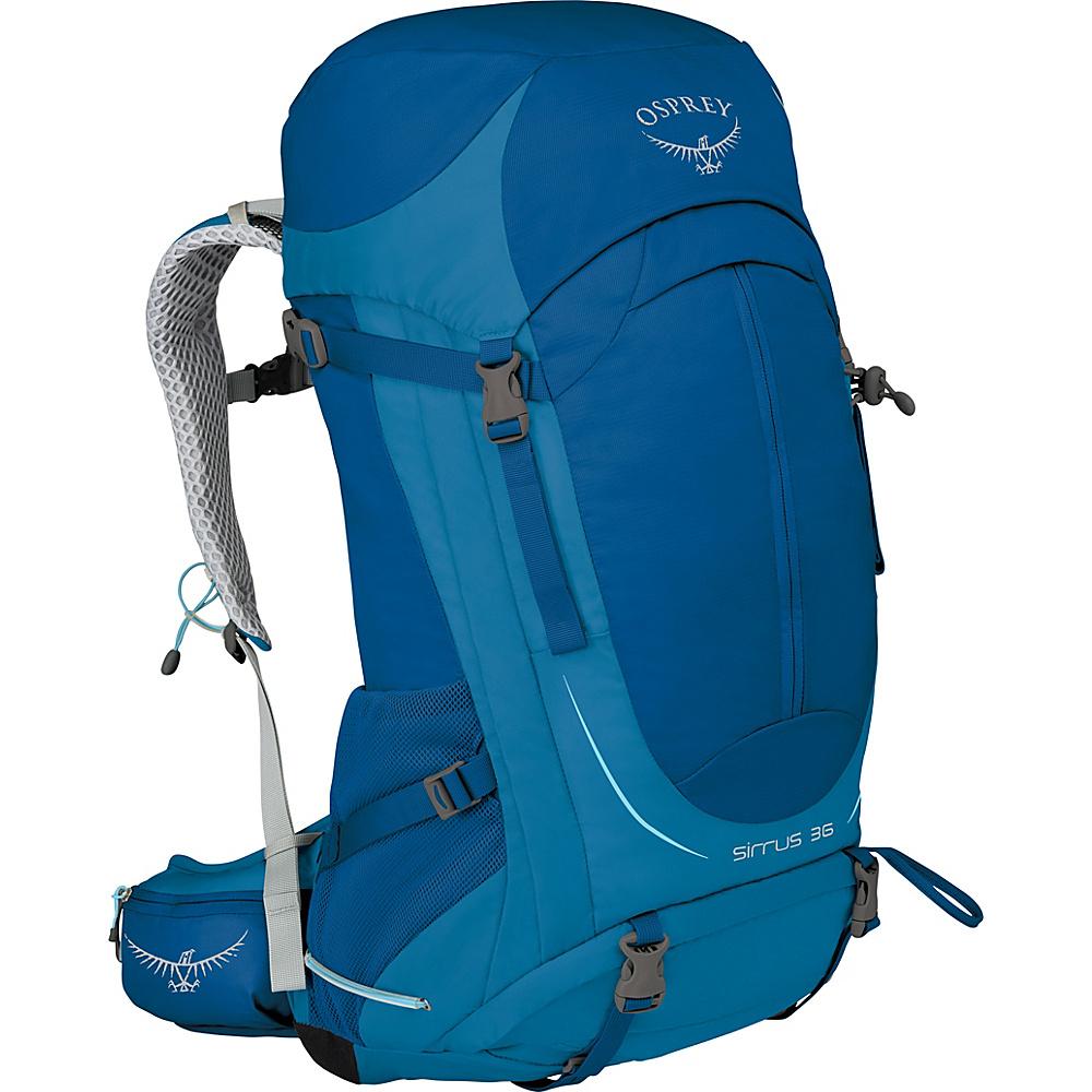 Osprey Womens Sirrus 36 Hiking Pack Summit Blue  – WS/M - Osprey Backpacking Packs - Outdoor, Backpacking Packs