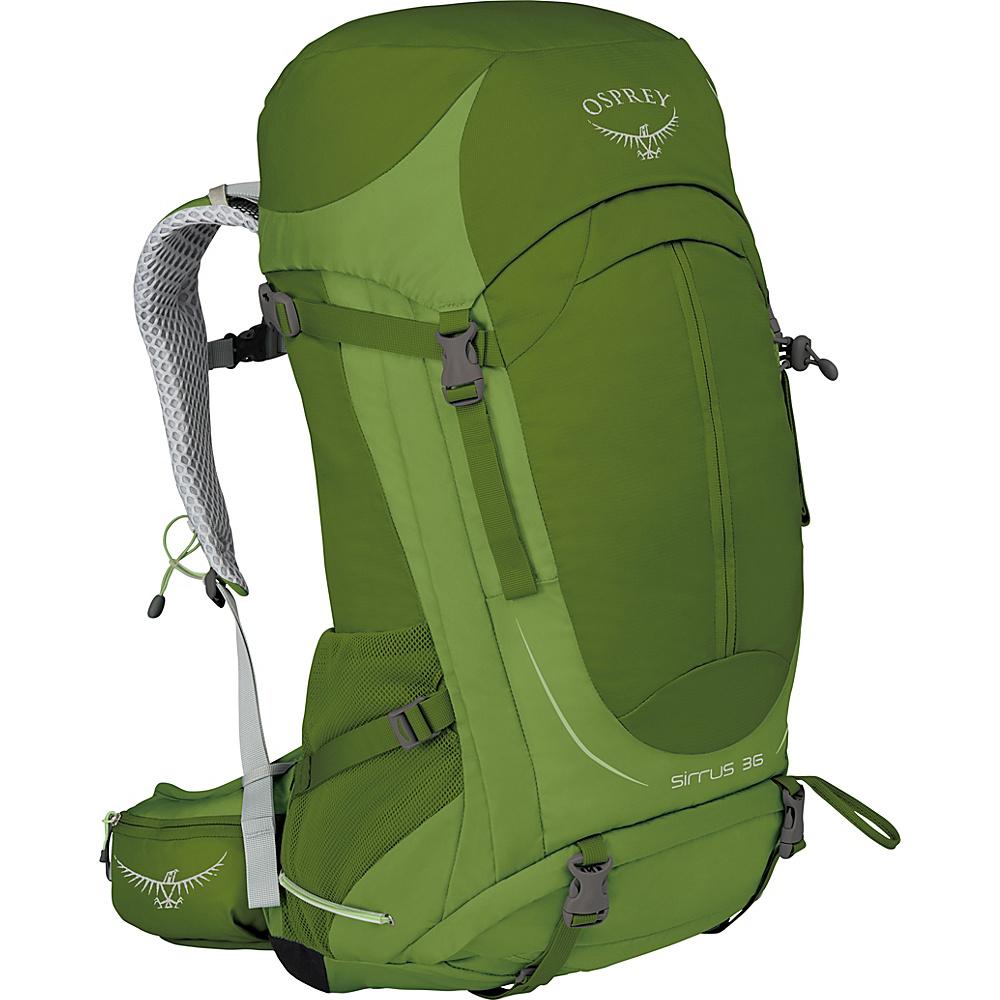 Osprey Womens Sirrus 36 Hiking Pack Thyme Green – WS/M - Osprey Backpacking Packs - Outdoor, Backpacking Packs
