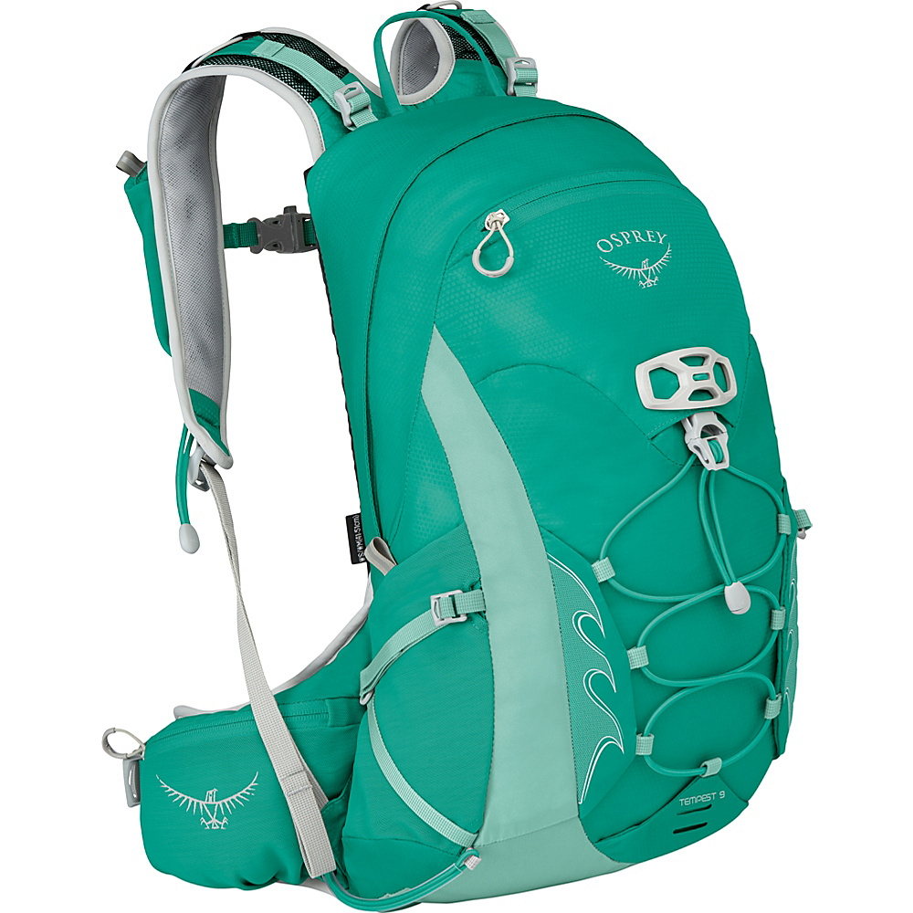 Osprey Womens Tempest 9 Hiking Pack Lucent Green – WS/M - Osprey Day Hiking Backpacks - Outdoor, Day Hiking Backpacks