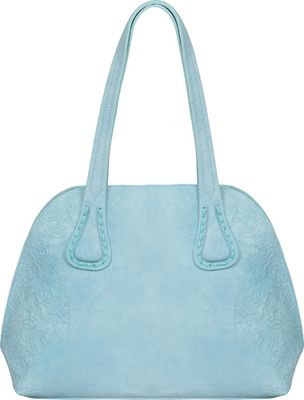 Mellow World Cecilia Satchel Turquoise - Mellow World Manmade Handbags