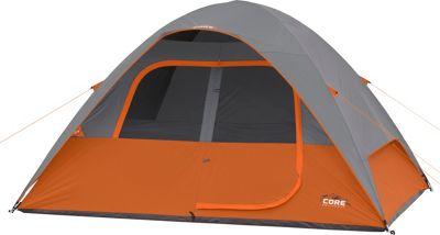 Core Equipment 6P Dome Tent Orange - Core Equipment Outdoor Accessories