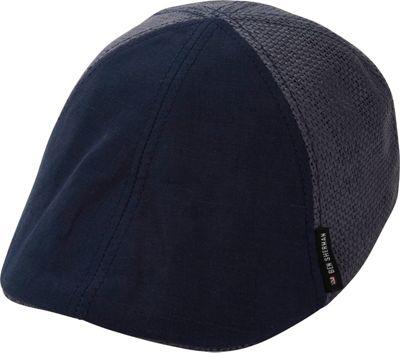 Ben Sherman Straw 6 Panel Driver L/XL - Staples Navy - Ben Sherman Hats