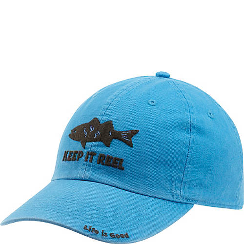 Life is good chill cap keep it reel fish for Keep it reel fishing