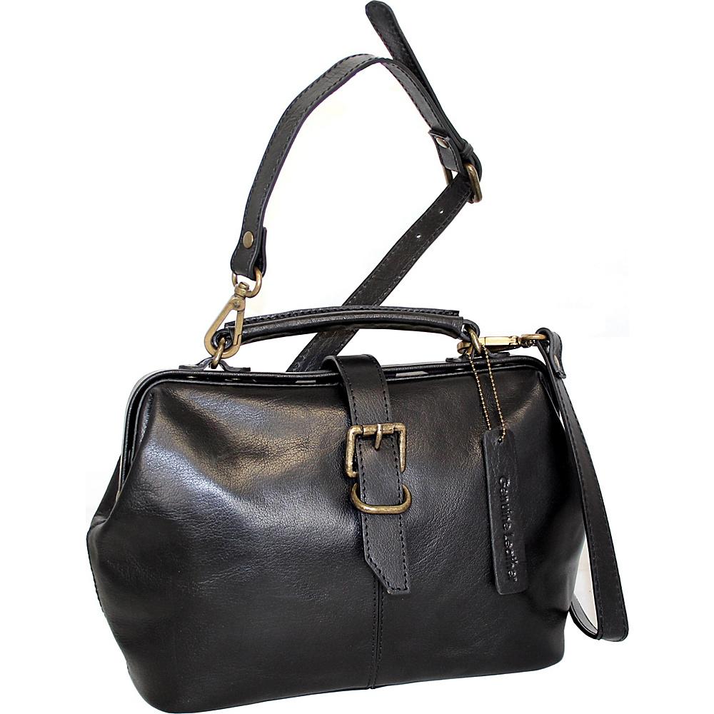Nino Bossi Stella Leather Hobo Black - Nino Bossi Leather Handbags - Handbags, Leather Handbags