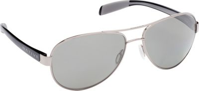 Native Eyewear Patroller Sunglasses Chrome/Gloss Black with Polarized Gray - Native Eyewear Eyewear