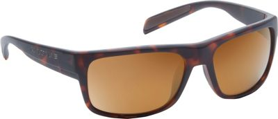 Native Eyewear Ashdown Sunglasses Matte Dark Tortoise with Polarized Bronze Reflex - Native Eyewear Eyewear