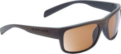 Native Eyewear Ashdown Sunglasses Wood with Polarized Brown - Native Eyewear Eyewear 10552875