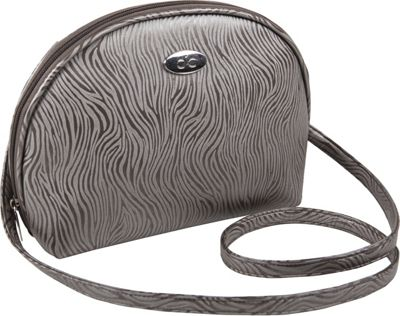 Cool-It Caddy Bella Crossbody Personal Cooler/Travel Bag Pewter - Cool-It Caddy Travel Coolers