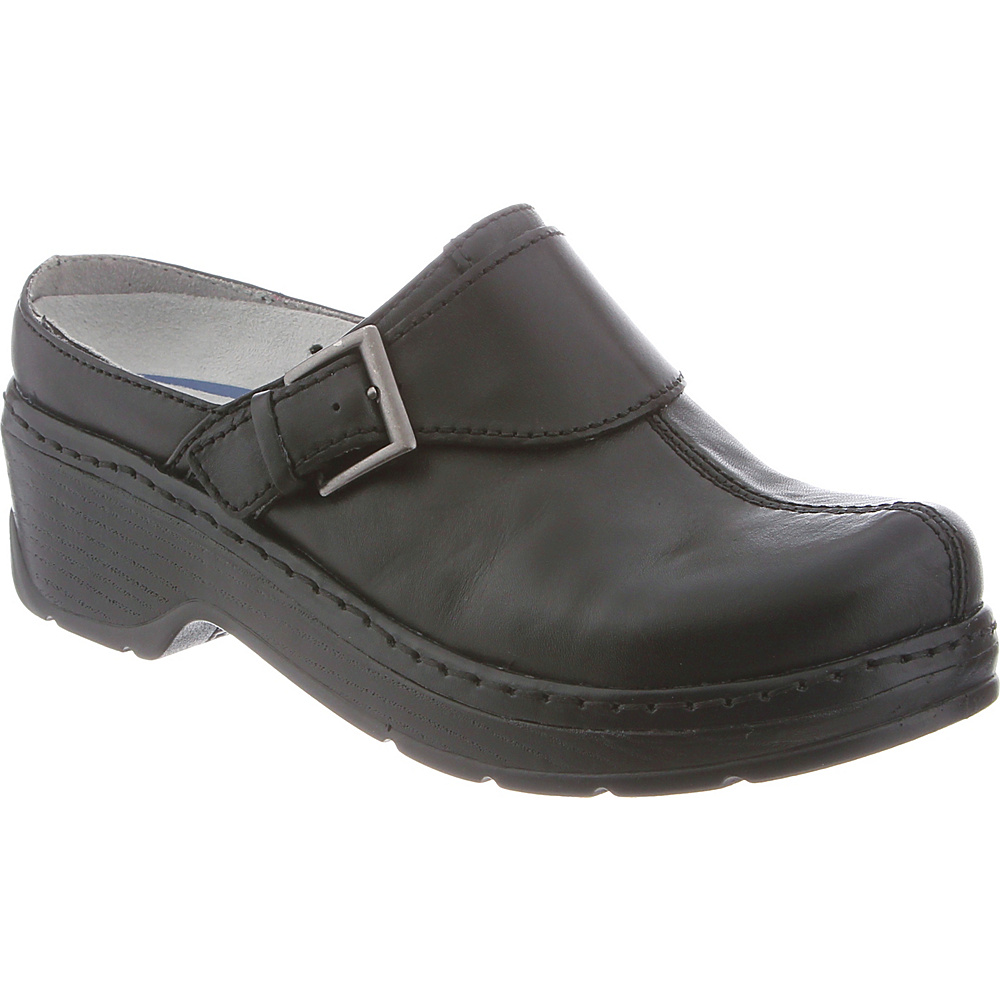 KLOGS Footwear Womens Austin 6 - M (Regular/Medium) - Black Smooth - KLOGS Footwear Womens Footwear - Apparel & Footwear, Women's Footwear