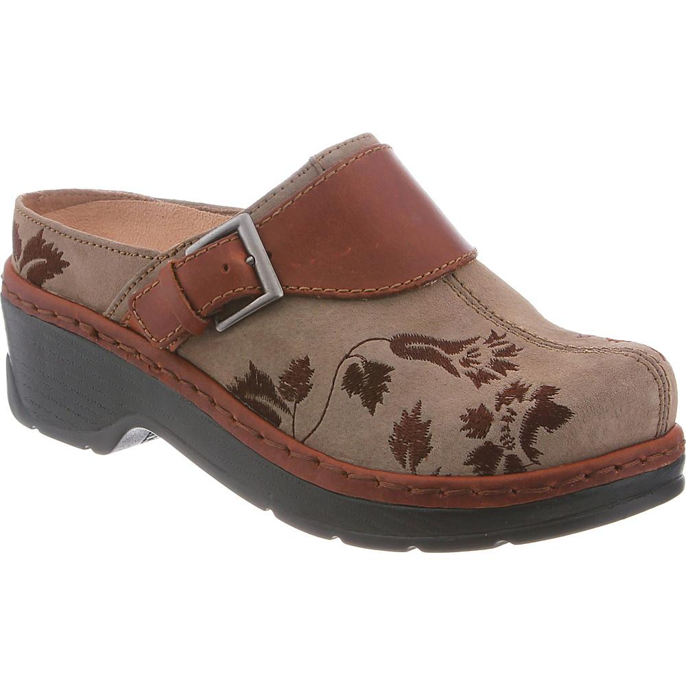 KLOGS Footwear Womens Austin 5 - M (Regular/Medium) - Taupe Suede Tapestry - KLOGS Footwear Womens Footwear - Apparel & Footwear, Women's Footwear