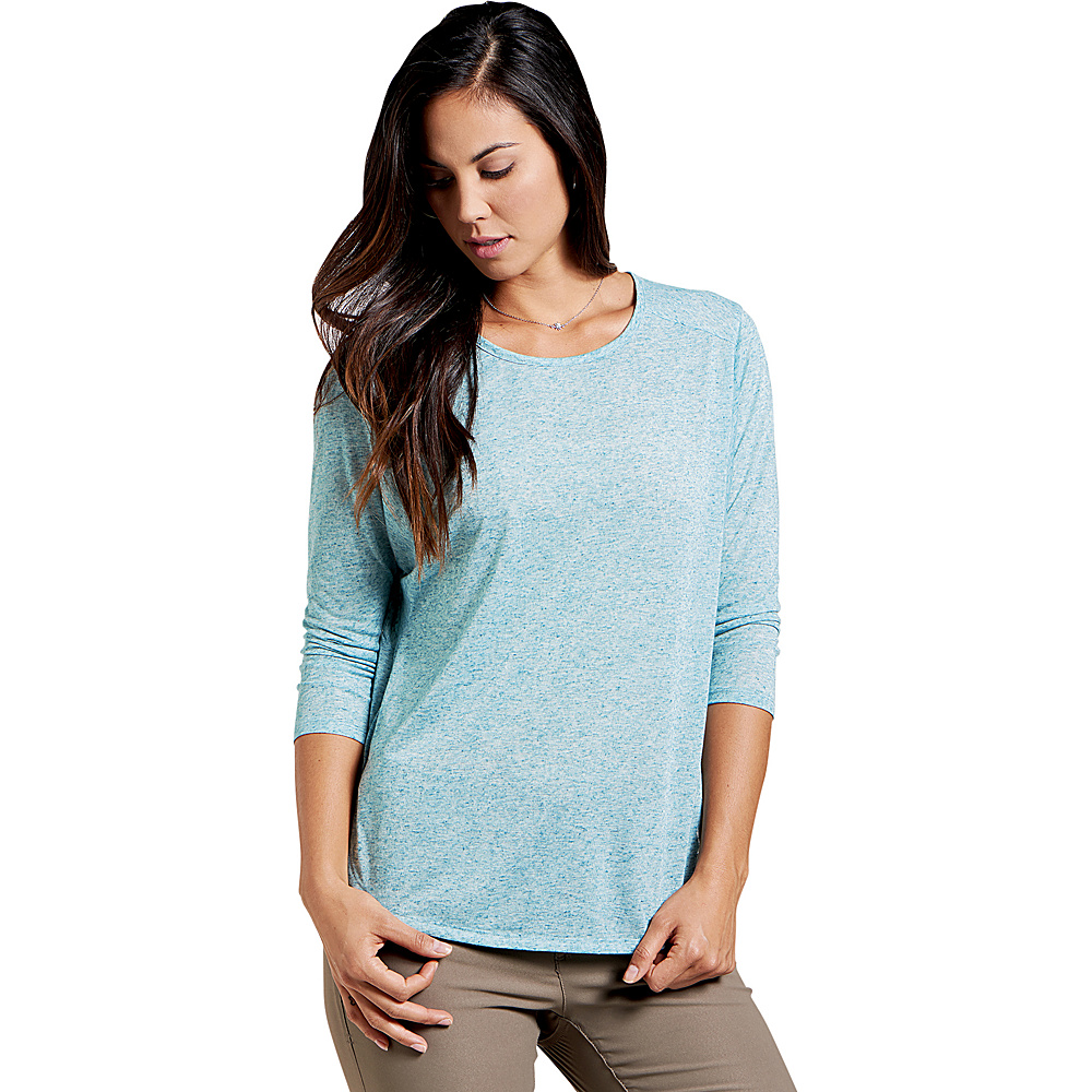 Toad & Co Ember 3/4 Sleeve Tee XS - Deepwater - Toad & Co Womens Apparel - Apparel & Footwear, Women's Apparel