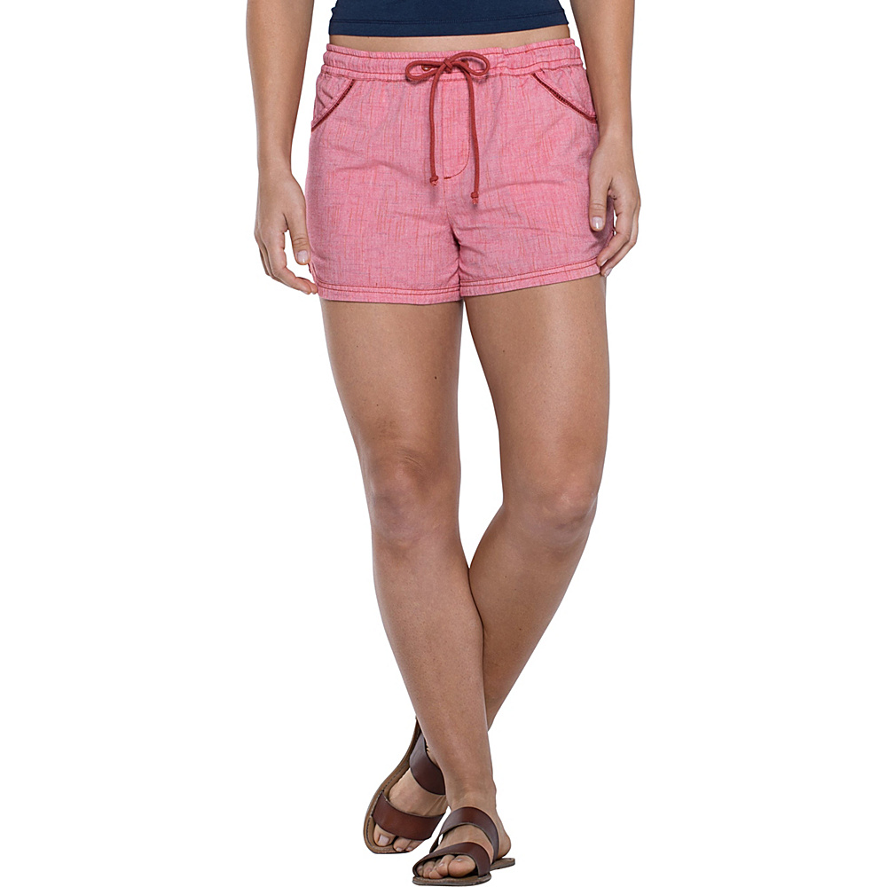Toad & Co Festi Short XS - 3in - Parakeet Red - Toad & Co Womens Apparel - Apparel & Footwear, Women's Apparel