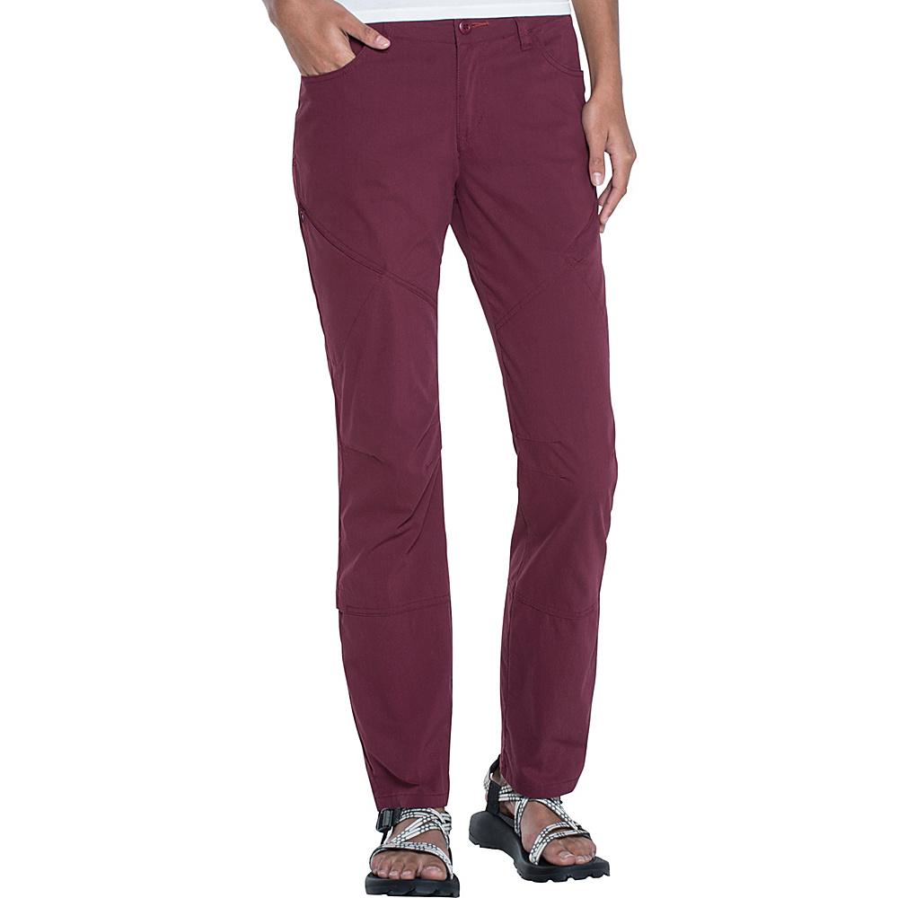 Toad & Co Summitline Hiking Pant 14 - 31in - Sangria - Toad & Co Womens Apparel - Apparel & Footwear, Women's Apparel