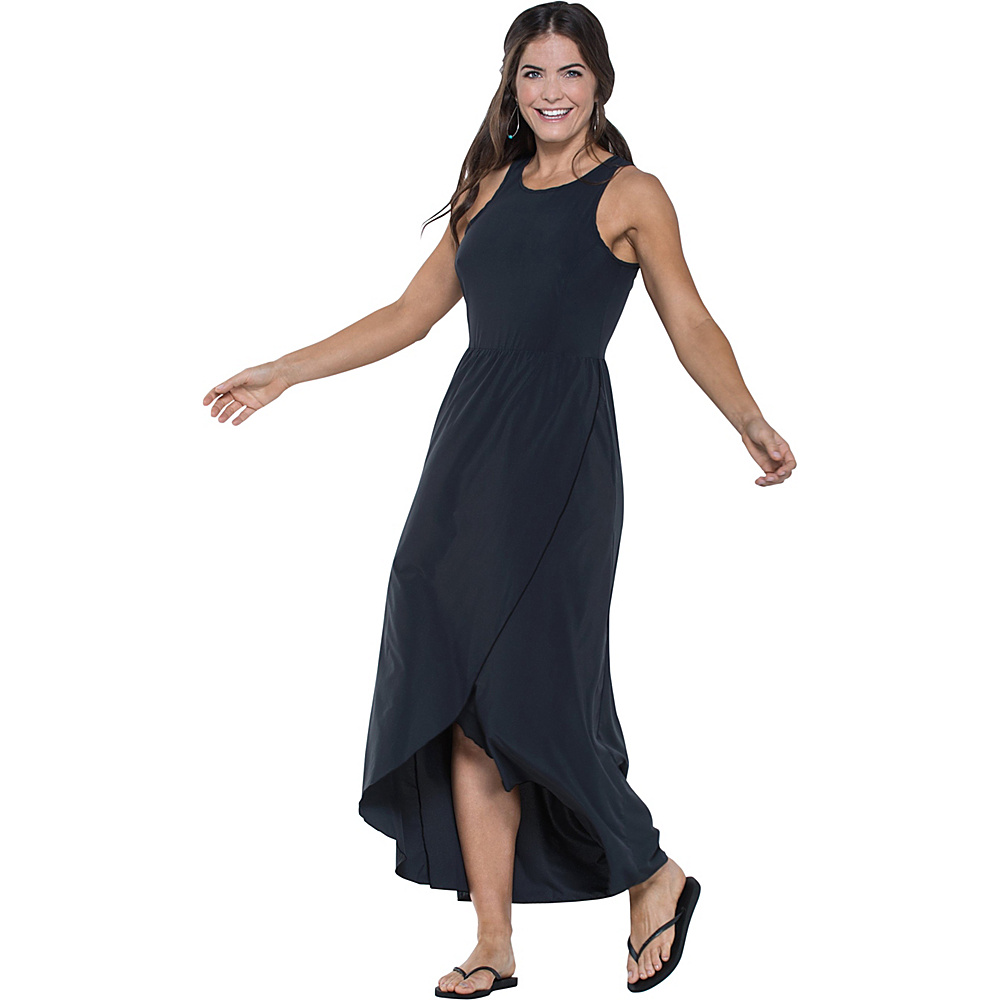 Toad & Co Sunkissed Maxi Dress XS - Black - Toad & Co Womens Apparel - Apparel & Footwear, Women's Apparel