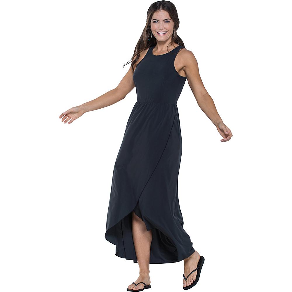 Toad & Co Sunkissed Maxi Dress L - Black - Toad & Co Womens Apparel - Apparel & Footwear, Women's Apparel