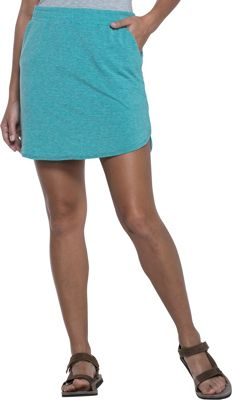 Image of Toad & Co Swifty Trail Skirt L - Turquoise Cove Stripe - Toad & Co Men's Apparel