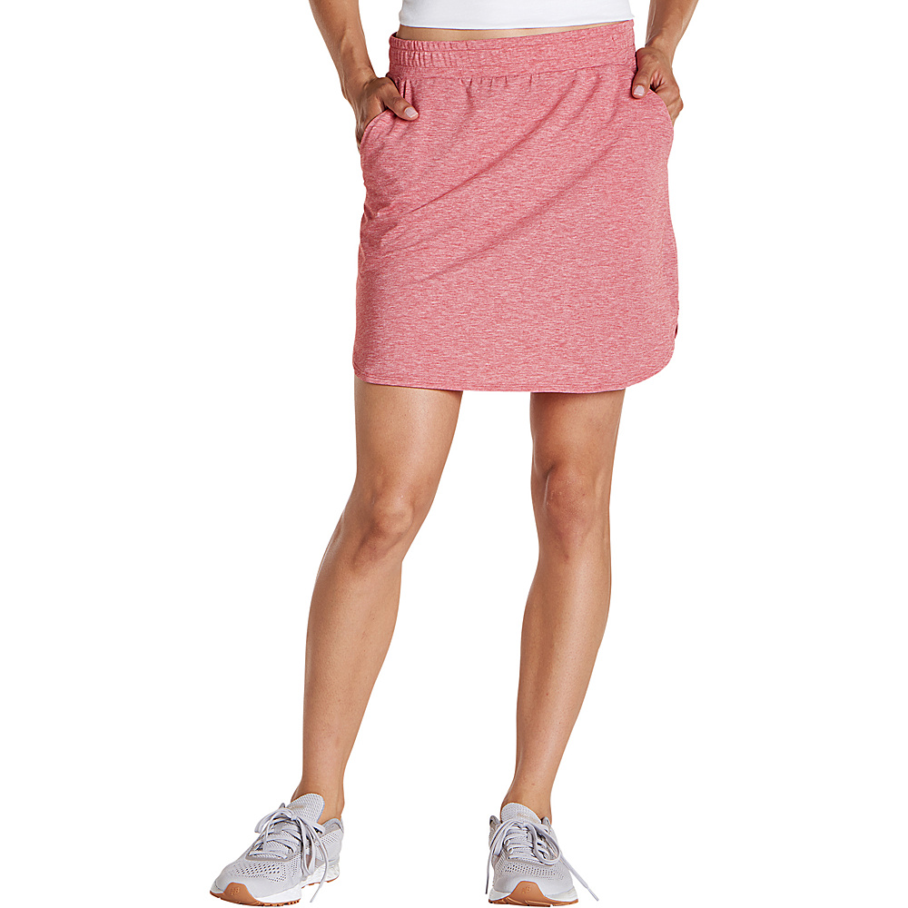 Toad & Co Swifty Trail Skirt XS - Guava Heather - Toad & Co Womens Apparel - Apparel & Footwear, Women's Apparel