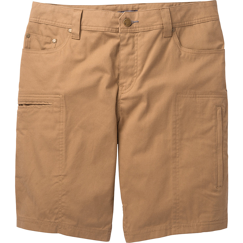 Toad & Co Cache Cargo Short 32 - Honey Brown - Toad & Co Mens Apparel - Apparel & Footwear, Men's Apparel