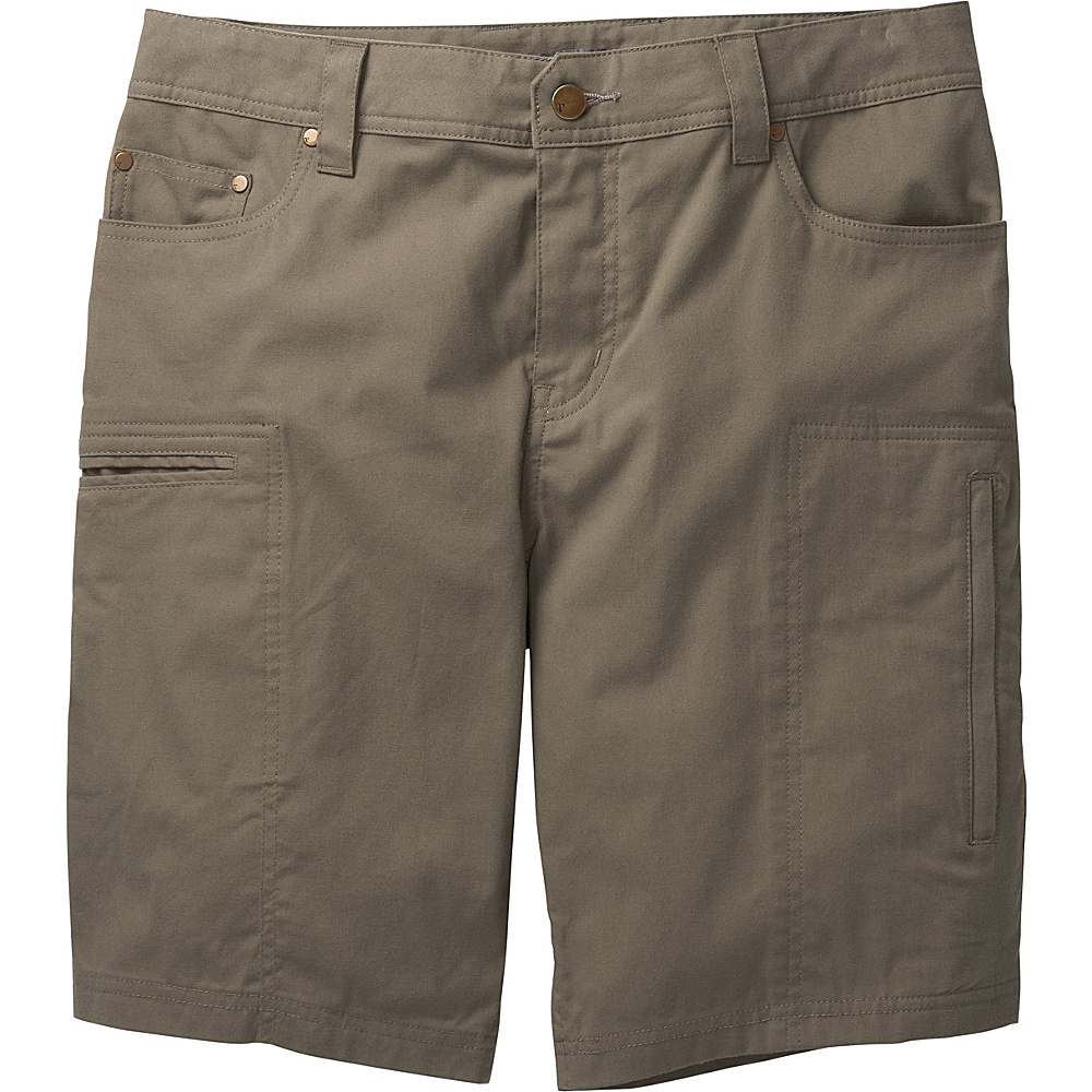 Toad & Co Cache Cargo Short 36 - Dark Moss - Toad & Co Mens Apparel - Apparel & Footwear, Men's Apparel