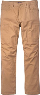 Toad & Co Cache Cargo Pant 36 - 32in - Honey Brown - Toad & Co Men's Apparel