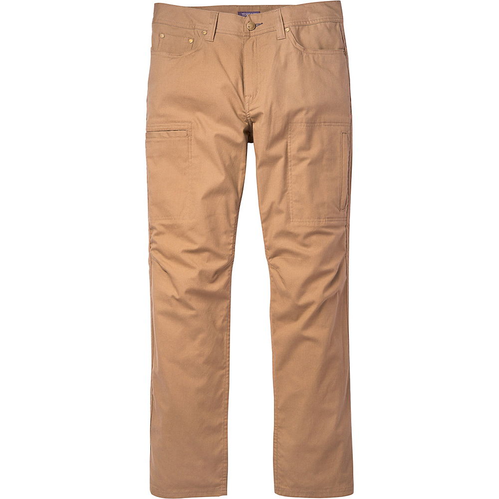 Toad & Co Cache Cargo Pant 36 - 32in - Honey Brown - Toad & Co Mens Apparel - Apparel & Footwear, Men's Apparel