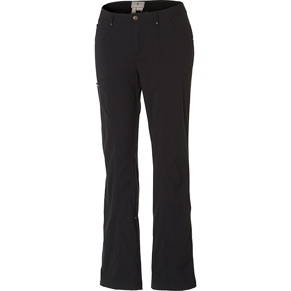 Royal Robbins Womens Discovery Pant 16 - Long - Jet Black - Royal Robbins Womens Apparel - Apparel & Footwear, Women's Apparel