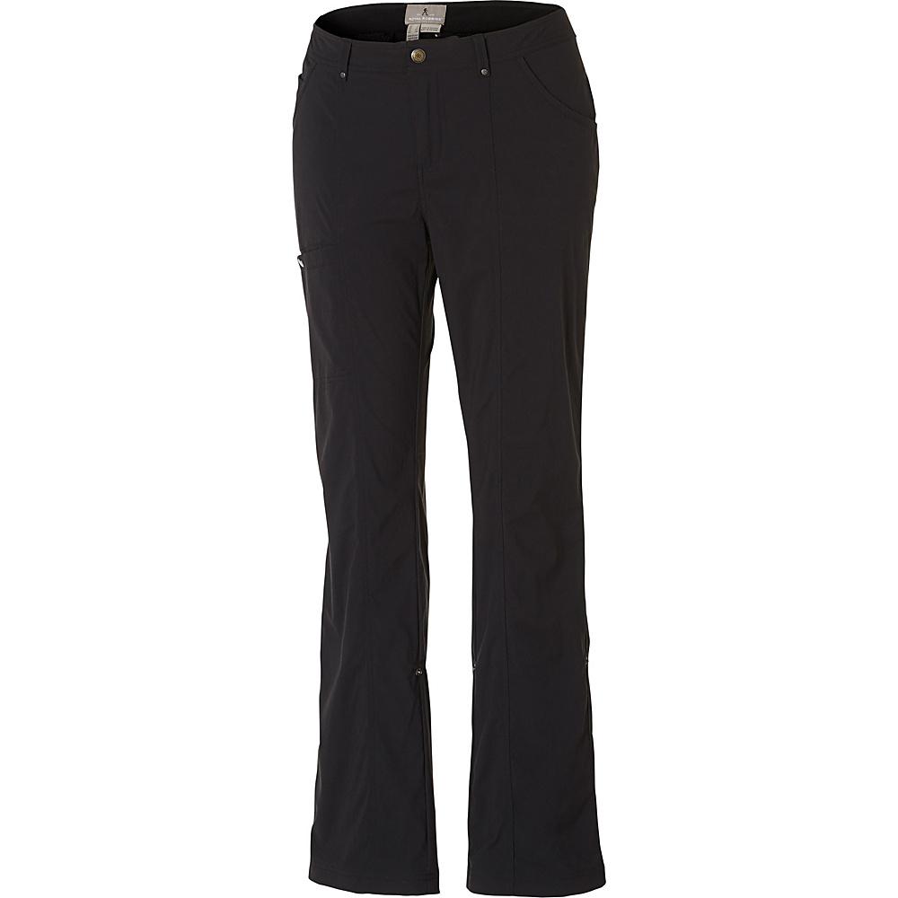 Royal Robbins Womens Discovery Pant 6 - Regular - Jet Black - Royal Robbins Womens Apparel - Apparel & Footwear, Women's Apparel