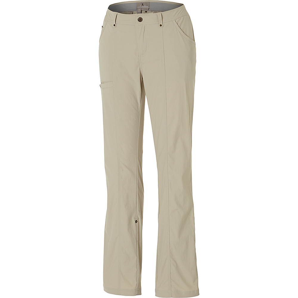 Royal Robbins Womens Discovery Pant 16 - Petite - Sandstone - Royal Robbins Womens Apparel - Apparel & Footwear, Women's Apparel