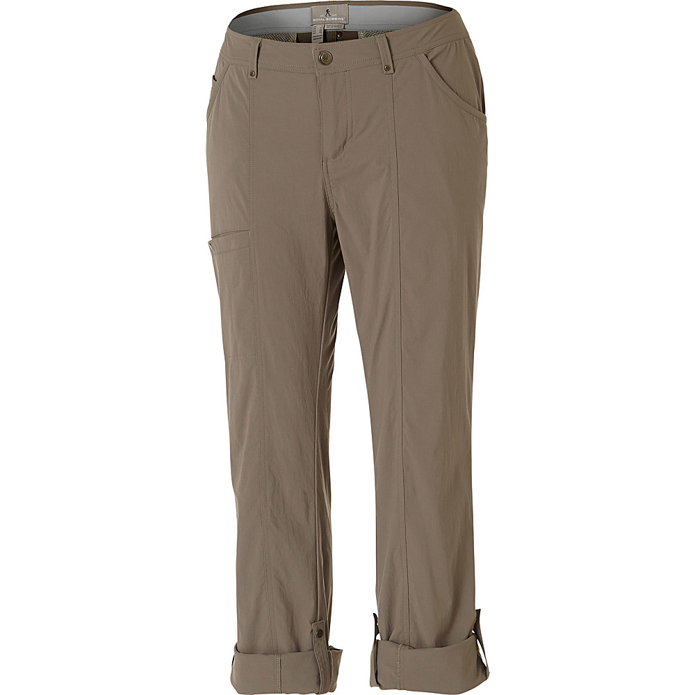 Royal Robbins Womens Discovery Pant 8 - Regular - Taupe - Royal Robbins Womens Apparel - Apparel & Footwear, Women's Apparel