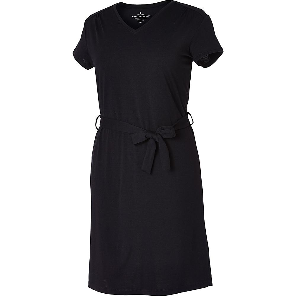 Royal Robbins Womens Merinolux Dress XS - Jet Black - Royal Robbins Womens Apparel - Apparel & Footwear, Women's Apparel