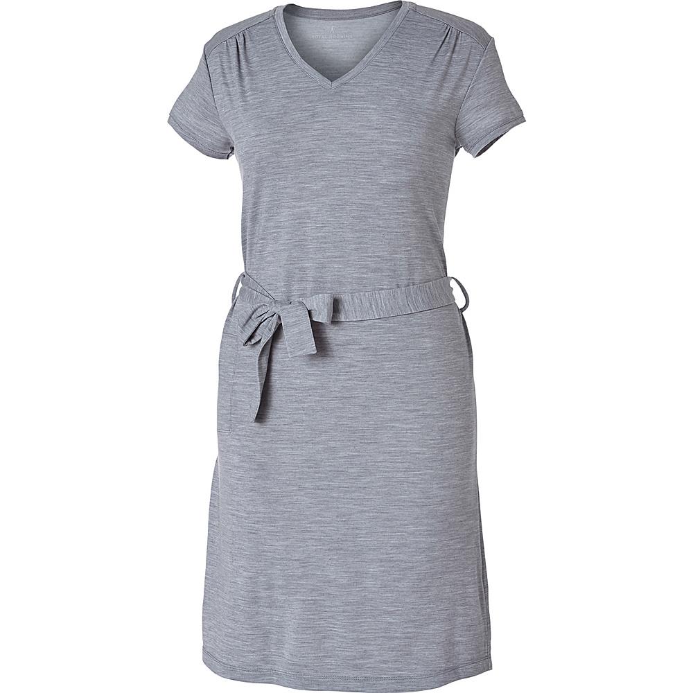 Royal Robbins Womens Merinolux Dress XL - Light Pewter - Royal Robbins Womens Apparel - Apparel & Footwear, Women's Apparel