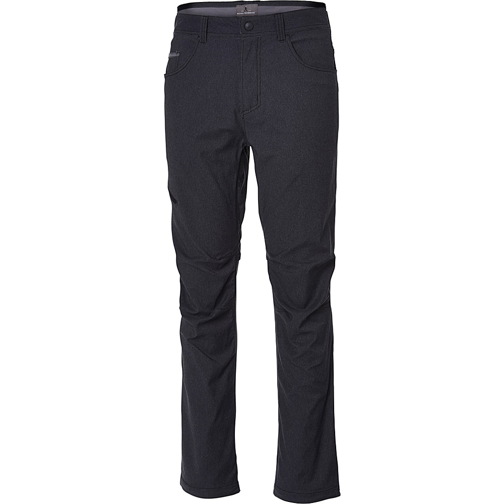 Royal Robbins Mens Alpine Road Pant 36 - 34in - Charcoal - Royal Robbins Mens Apparel - Apparel & Footwear, Men's Apparel