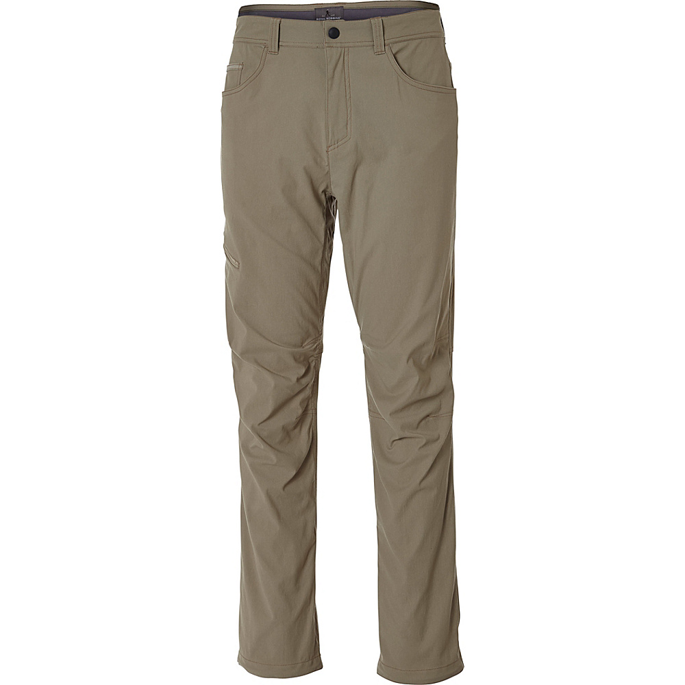 Royal Robbins Mens Alpine Road Pant 33 - 30in - Khaki - Royal Robbins Mens Apparel - Apparel & Footwear, Men's Apparel