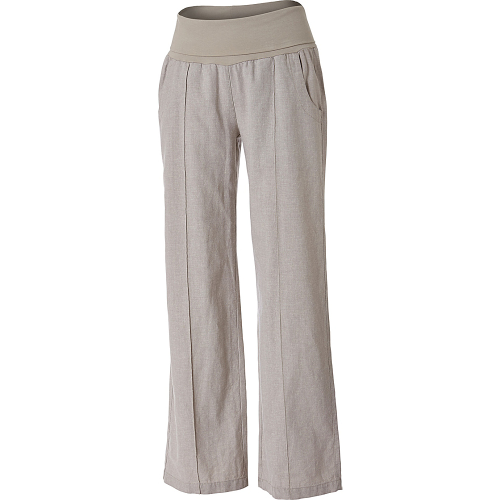 Royal Robbins Womens Bay Breeze Pant 12 - Regular - Light Khaki - Royal Robbins Womens Apparel - Apparel & Footwear, Women's Apparel