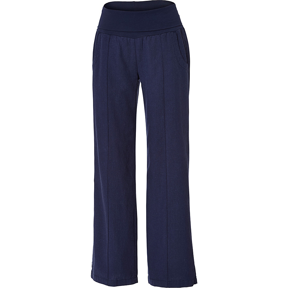 Royal Robbins Womens Bay Breeze Pant 14 - Regular - Navy - Royal Robbins Womens Apparel - Apparel & Footwear, Women's Apparel