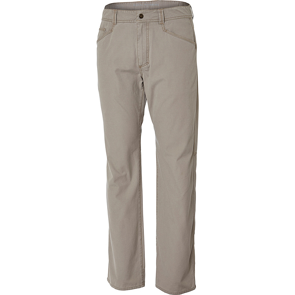 Royal Robbins Mens Billy Goat 5 Pocket Pant 30 - 30in - Khaki - Royal Robbins Mens Apparel - Apparel & Footwear, Men's Apparel