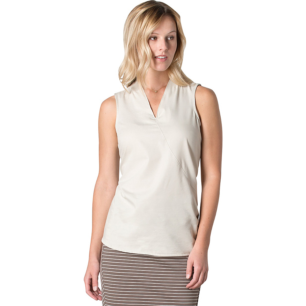 Toad & Co Wayfair SL Shirt M - Pelican - Toad & Co Womens Apparel - Apparel & Footwear, Women's Apparel